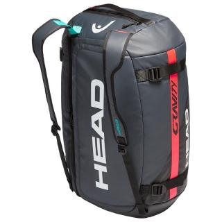 Head Gravity 12 Racquet Tennis Duffle Bag (Black/Teal)
