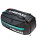 Head Gravity 6 Racquet Tennis Sport Bag (Black/Teal) - Head Gravity Tennis Duffle Bags and Backpack