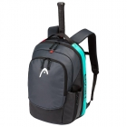 Head Gravity Tennis Backpack (Black/Teal) - Head Tennis Bags
