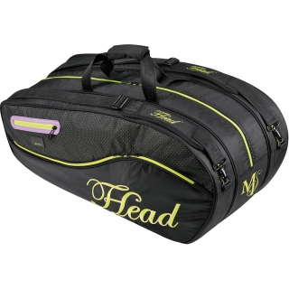 Head Maria Sharapova Combi Tennis Bag (Black/ Gold)