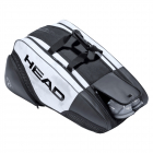 HEAD Djokovic 12R Monstercombi Tennis Bag (Black/White) -