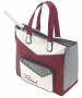 Head Maria Sharapova Womens Tennis Tote Bag (Maroon/ White/ Grey) - Head Sharapova Series Tennis Bags
