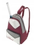 Head Maria Sharapova Womens Tennis Backpack Pack (Maroon/ White/ Grey) - Head Sharapova Series Tennis Bags