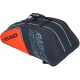 Head Radical 12R Monstercombi Tennis Bag (Orange/Grey) - Head Radical Series Tennis Racquet Bags