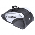 Head Djokovic 9R Supercombi Tennis Bag (White/Black) -