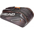 Head Tour Team 12R Monstercombi Tennis Bag (Black/Silver) - Head Tennis Bags