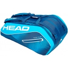 Head Tour Team 12R Monstercombi Tennis Bag (Navy/Blue) - Head Tennis Bags