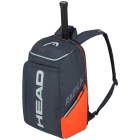 Head Radical Rebel Tennis Backpack (Orange/Grey) - Head Radical Series Tennis Racquet Bags
