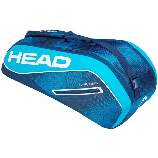 Head Tour Team 6R Combi Tennis Bag (Navy/Blue)