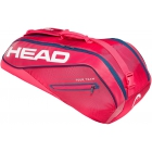 Head Tour Team 6R Combi Tennis Bag (Raspberry/Navy) - SALE! 20% Off Head Tennis Bags