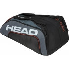 Head Tour Team 12R Monstercombi Tennis Bag (Black/Grey) - Tennis Bags on Sale