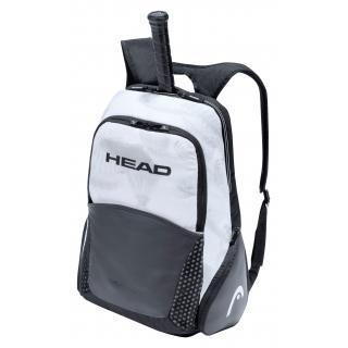 HEAD Djokovic Tennis Backpack (Black/White)