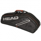 Head Tour Team 3R Pro Tennis Bag (Black/Silver) - HEAD Summer Bag Special!
