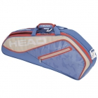 Head Tour Team 3R Pro Tennis Bag (Light Blue/Sand) - HEAD Summer Bag Special!