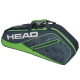 Head Tour Team 3R Pro Tennis Bag (Navy/Green) - Head Tennis Bags