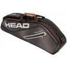 Head Tour Team 3R Pro Tennis Bag (Black/Silver) - 3 Racquet Tennis Bags