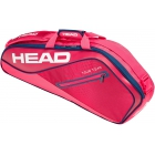 Head Tour Team 3R Pro Tennis Bag (Raspberry/Navy) - 3 Racquet Tennis Bags