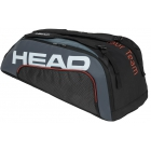 Head Tour Team 9R Supercombi Tennis Bag (Black/Grey) - Head Summer Tennis Bag Sale