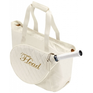 Head Maria Sharapova Womens Club Tennis Tote Bag (Wht/ Gld)