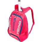 Head Tour Team Tennis Backpack (Raspberry/Navy) - Head Tennis Bags
