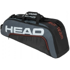 Head Tour Team 6R Combi Tennis Bag (Black/Grey) - Tennis Bags on Sale