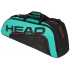 Head Tour Team 6R Combi Tennis Bag (Black/Teal) -