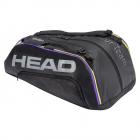 Head Tour Team 12R Monstercombi Tennis Bag (Black/Grey) -