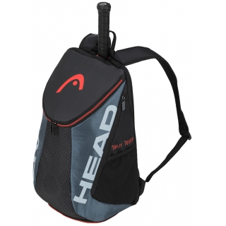 Head Tour Team Tennis Backpack (Black/Grey)