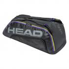 Head Tour Team 9R Supercombi Tennis Bag (Black/Grey) -
