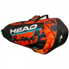 Head 2017 Radical 9R Supercombi Tennis Bag - Head Radical Series Tennis Racquet Bags