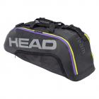 Head Tour Team 6R Combi Tennis Bag (Black/Grey) -