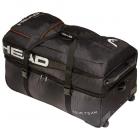 Head Tour Team Tennis Travel Bag (Black/Silver) - Head Tennis Bags