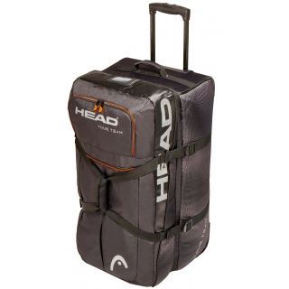 Head Tour Team Tennis Travel Bag (Black/Silver)