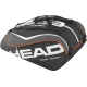 Head Tour Team 12 Pk Monstercombi Tennis Bag (Black) - Head Tour Team Series Tennis Bags