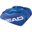 Head Tour Team 12 Pk Monstercombi Tennis Bag (Navy) - Head Tennis Bags