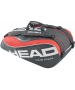 Head Tour Team 9 Pk Supercombi Tennis Bag (Red/Black) - Tour Team Series