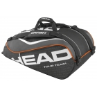 Head Tour Team 9 Pk Supercombi Tennis Bag (Black) - Head Tennis Bags
