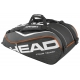 Head Tour Team 9 Pk Supercombi Tennis Bag (Black) - Head Tour Team Series Tennis Bags