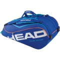 Head Tour Team 9 Pk Supercombi Tennis Bag (Navy)