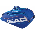 Head Tour Team 9 Pk Supercombi Tennis Bag (Navy) - Head Tennis Bags