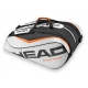 Head Tour Team 12 Pk Monstercombi Tennis Bag (Silver/Black) - Head Tennis Bags
