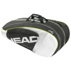 Head Djokovic Series 9pk Combi Tennis Bag - Head Djokovic Backpack & Tennis Bag Series
