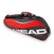 Head Tour Team 3 Pk Pro Tennis Bag (Red/Black) - Head Tennis Bags