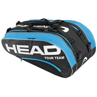 Head Tour Team Monstercombi Tennis Bag (Blk/ Blu)