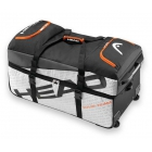 Head Tour Team Travel Bag (Silver/Black) - Head Tour Team Series Tennis Bags