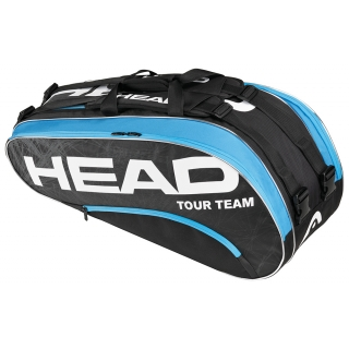 Head Tour Team Combi Tennis Bag (Blk/ Blu)