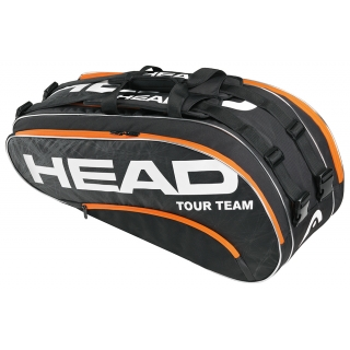 Head Tour Team Combi Tennis Bag (Blk/ Org)