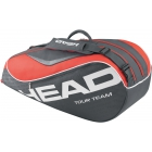Head Tour Team Combi Tennis Bag (Black/ Coral) - Head Tennis Bags