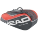 Head Tour Team Combi Tennis Bag (Black/ Coral) - Head Tour Team Series Tennis Bags