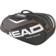Head Tour Team Combi Tennis Bag (Black) - Head Tour Team Series Tennis Bags